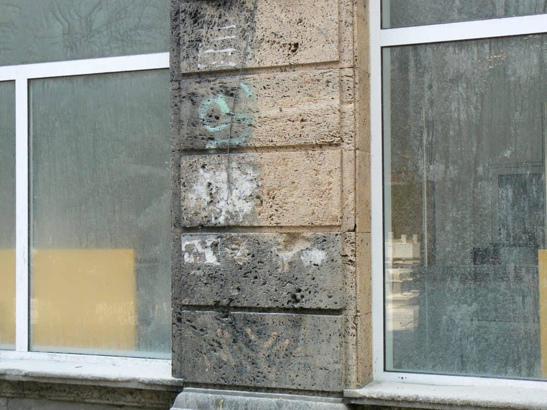 Fassadenreinigung und –Imprägnierung von Naturstein