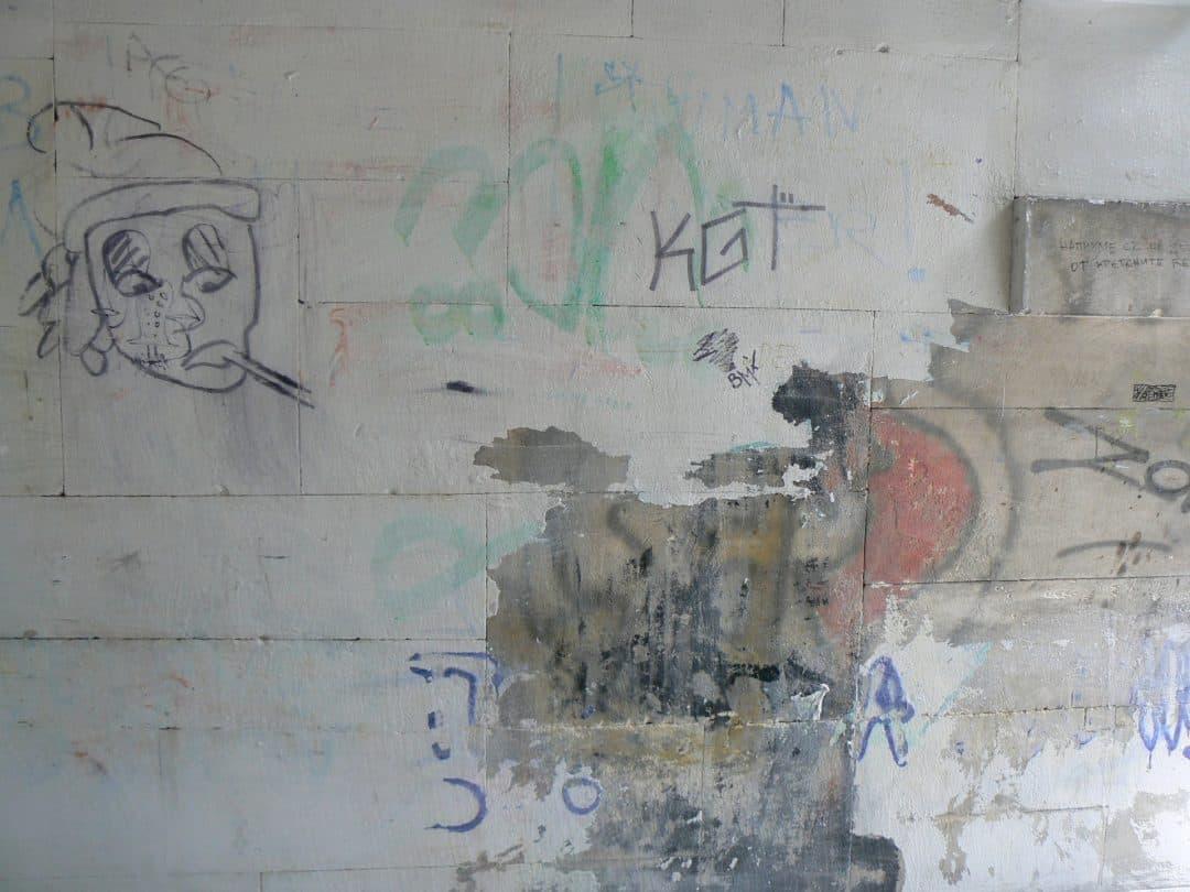 Graffitientfernung und – Imprägnierung von Sandstein