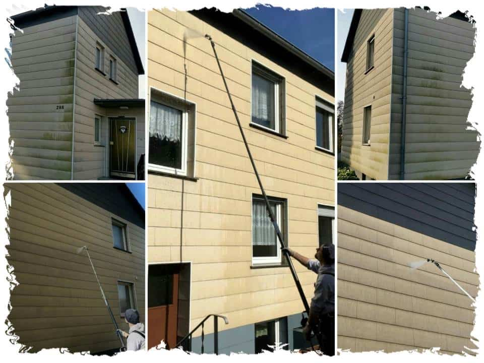 Fassadenreinigung Hauswand