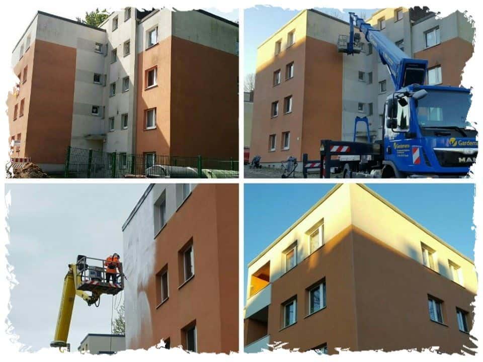 Fassadenreinigung Mehrfamilienhaus