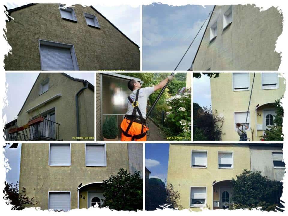 Fassadenreinigung in Düsseldorf